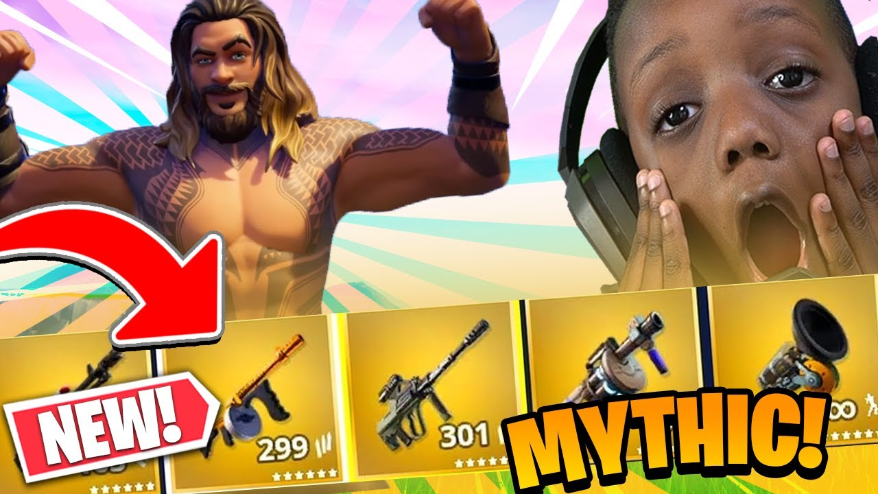 OMGGGG New Mythic Weapon *Hard To Find*