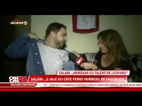 INTERVIU SPECIAL - FLORIN SALAM ( Vorbeste despre Antonia, Facebook si altele )