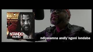 NTANDO  (Official LYRIC Video)  NGAPHANDLE KWAKHO