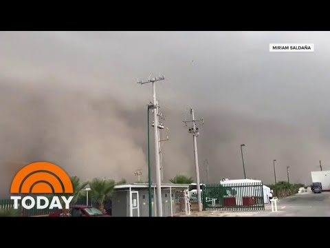 Giant Dust Cloud From The Sahara Arrives In The US | TODAY
