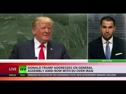 Trump's UNGA speech: Iran, illegal immigration & globalism