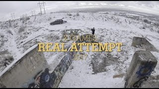 X Games Real Attempt — LJ Strenio