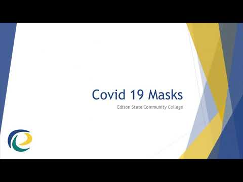 Covid 19 Mask Wearing at Edison State Community College