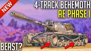 Download lagu 4 Tracked Beast The AE Phase I is Here World of Tanks AE Phase I Review MP3