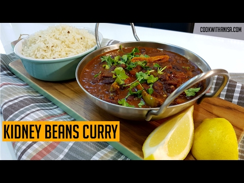 How to make Rajma Curry (Kidney Beans) | Indian Cooking Recipes | #CookwithAnisa #recipeoftheday