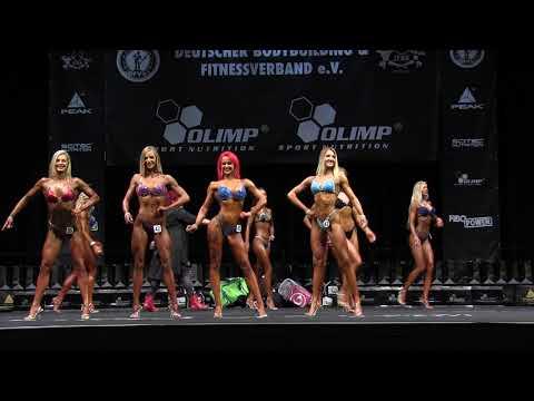 Bikini Fitness +169cm Vorwahl // Int. Deutsche Meisterschaft 2017