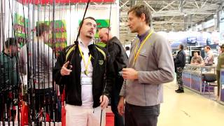 """Новинки спиннингов Aiko, представленные на выставке """"Охота и рыболо..."""
