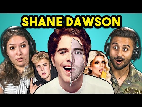 College Kids React To Shane Dawson (The Mind Of Jake Paul/Secret World Of Jeffree Star)