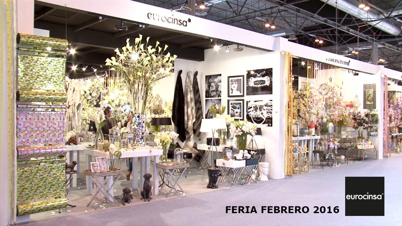 Eurocinsa feria intergift febrero 2016 youtube for Feria decoracion madrid