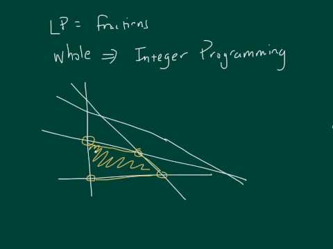 Brief Overview of Integer Programming