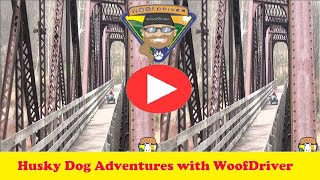 3D - The WooFDriver Tour - Pine Creek Rail Tral Pennsylvania