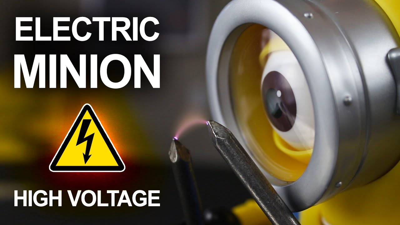 Mad Science Minion Caution High Voltage Youtube On Pinterest Electric Circuit Electrical Safety And