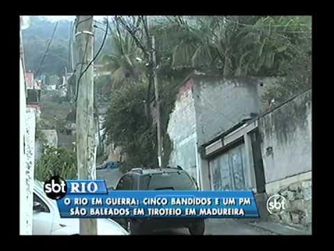Manhã de pânico na Serrinha, em Madureira