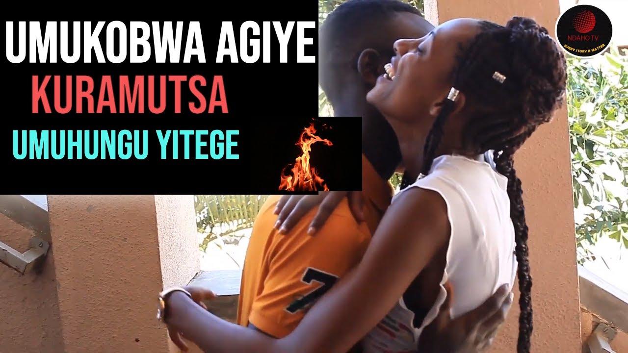 Download Ngo Umukobwa agiye kuramutsa umuhungu || Aziko yibana ngo ntakindi kiba kimujanye atari kubikora