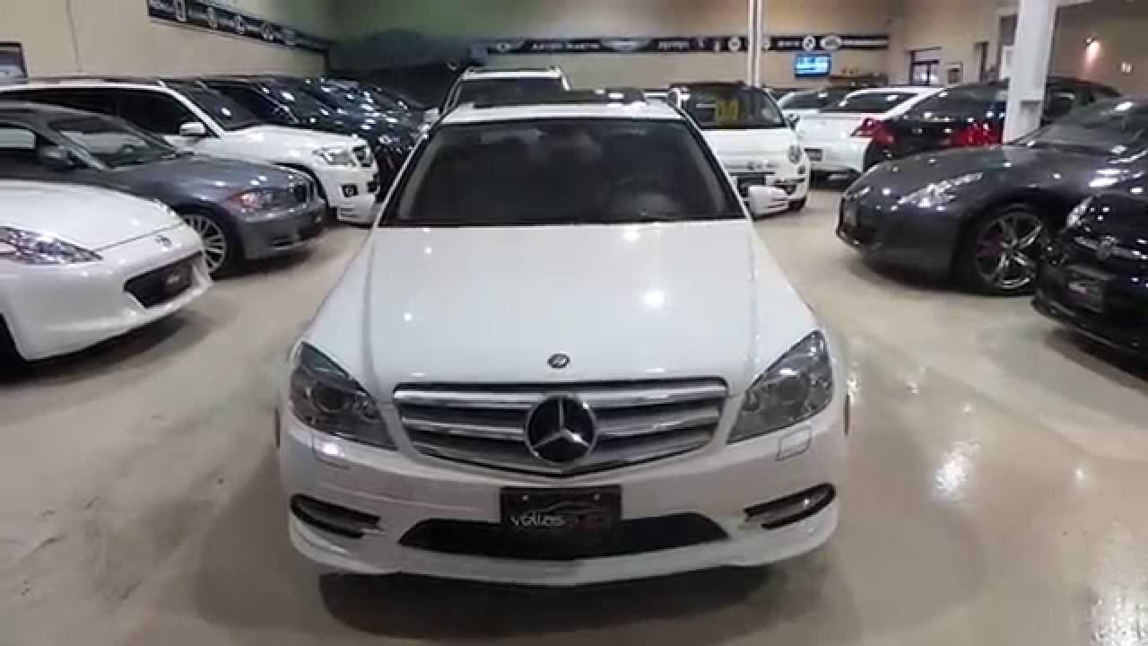 2011 mercedes- benz c300 4matic w/navigation - youtube