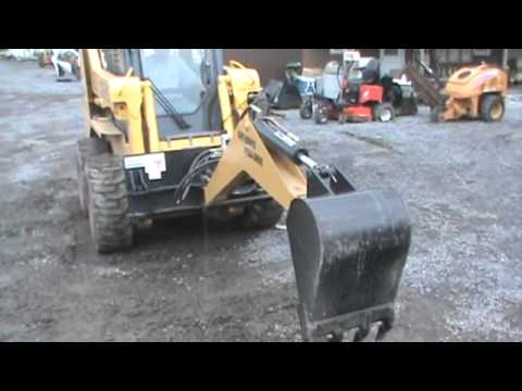 Lackender Baby Boomer Skid Steer Swing Backhoe Attachment
