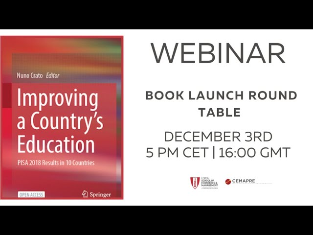 Webinar   Improving a Country's Education