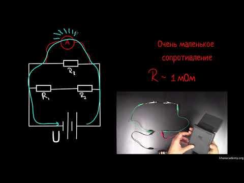 Как включается амперметр в электрическую цепь