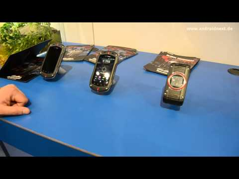Casio G'zOne C781 und G-Shock Phone Prototyp-Dummy - Hands-On - CES 2012 - androidnext.de