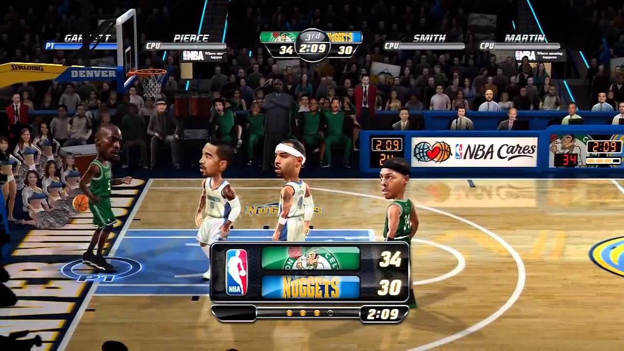 NBA jam- On fire edition- Xbla- Celtics vs. Nuggets- HD ...