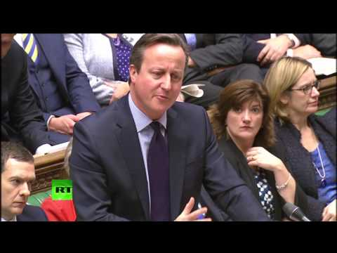 PMQs: Syria troops on the ground