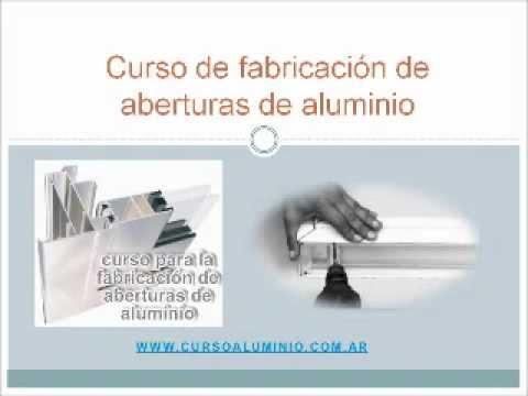 Como fabricar aberturas de aluminio youtube for Como fabricar ventanas de aluminio