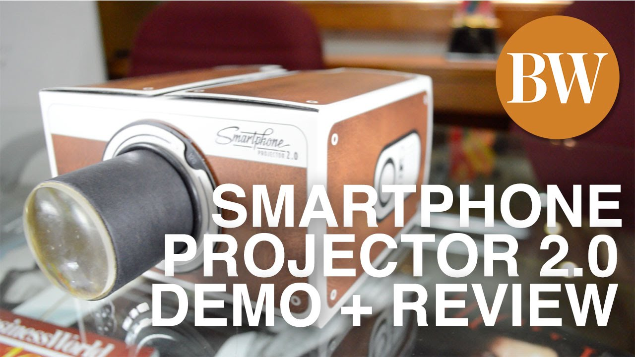 Smartphone Projector Diy Review