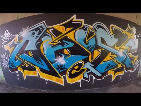TOP 2: GRAFFITI PIECES BY: GHOST EA