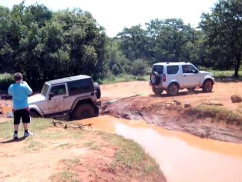 Next Suzuki Jimny >> Suzuki Jimny recovers Jeep Wrangler from mudhole. - YouTube