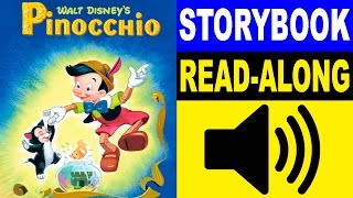 Pinocchio Read Along Story book | Pinocchio Storybook | Read Aloud Story Books for Kids