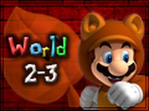 Super Mario 3D Land Walkthrough World 2-3