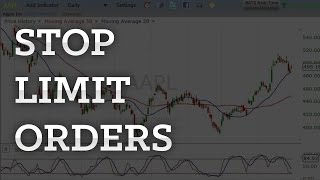 The Basics of Stop Limit Orders In 2 Minutes (How to trade stop limit orders)