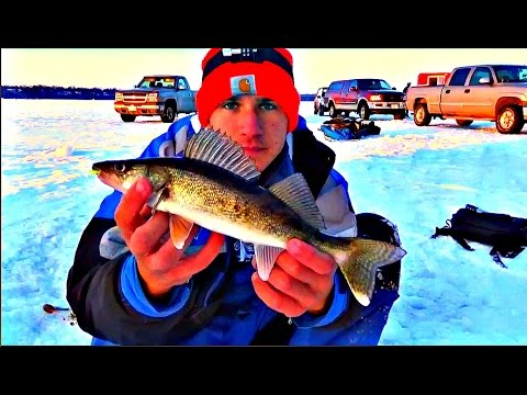 Ice fishing 2017 central wisconsin youtube for Ice fishing 2017