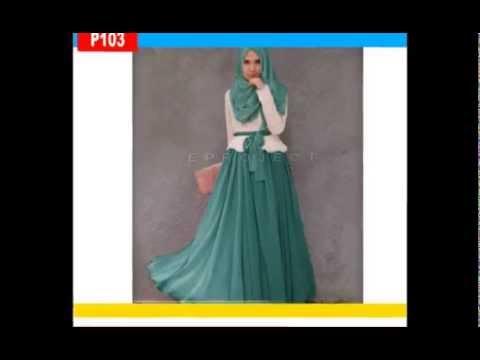 Fashion Wanita Muslimah Baju Gamis Modern Baju Muslim Remaja