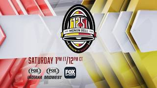 2018 - Fox Sports Promo for the Telecast of the 125th Monon Bell Classic (Week Of)