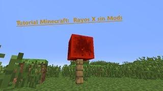 Trucos Minecraft: Rayos X sin mods