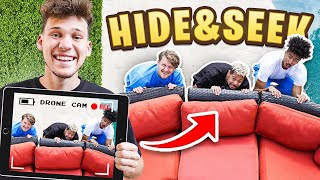 I Cheated In Hide And Seek With A DRONE!