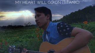 My Heart Will Go On - Celine Dion (Titanic Theme Song) - Fingerstyle Guitar Cover  by SATURDAY