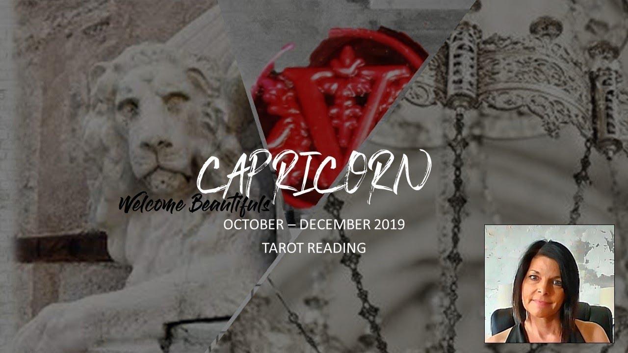 december 2019 tarot for capricorn
