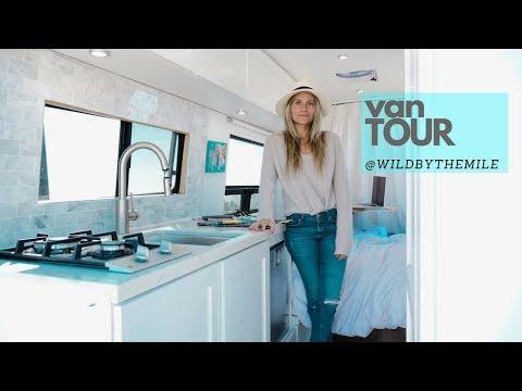 VAN TOUR | FULL-TIME SOLO FEMALE TRAVELER