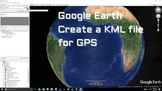 Google Earth How to Create a KML file for GPS Free HD Video