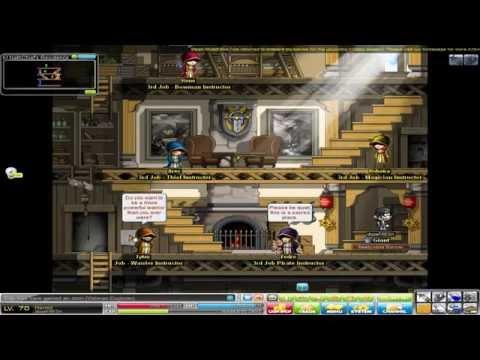 MapleStory Europe - Level 70 (Hermit) + Monster Riding