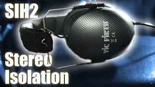 SIH2 Stereo Isolation Headphones by Vic Firth Review // Strata Recording