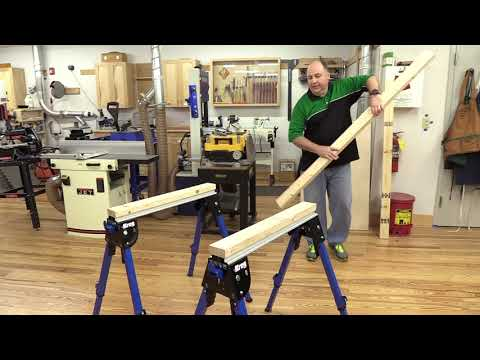 Kreg Track Horse Work Support & Table Build at Woodcraft