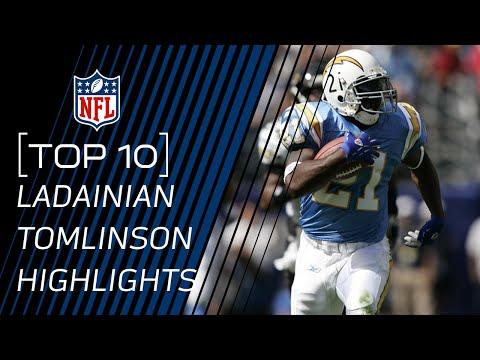 Top 10 LaDainian Tomlinson Career Performances | #TopTenTuesdays | NFL