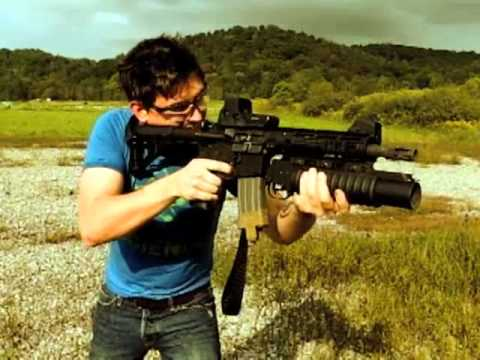 JMac shooting M16 with...