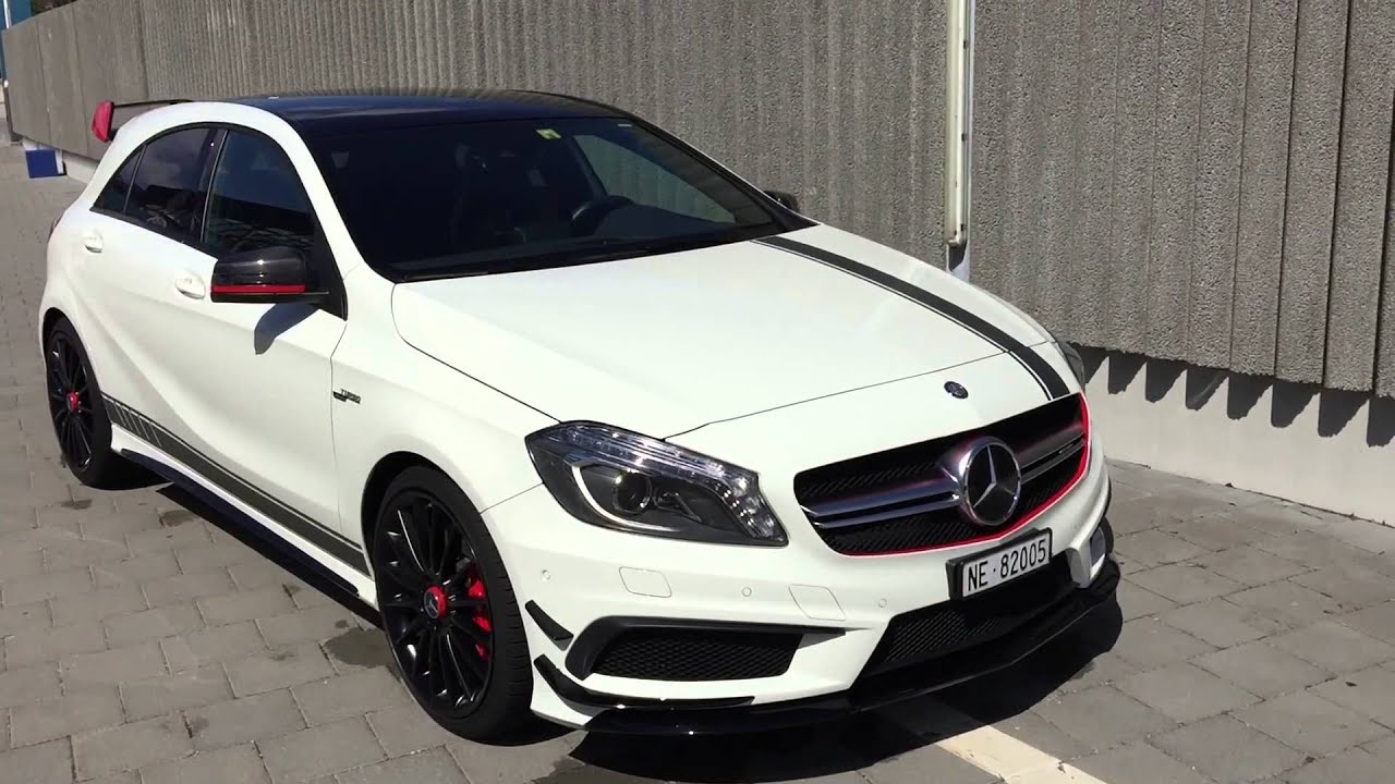 vlog mercedes a45 amg edition1 fuel consumption and car wash youtube. Black Bedroom Furniture Sets. Home Design Ideas