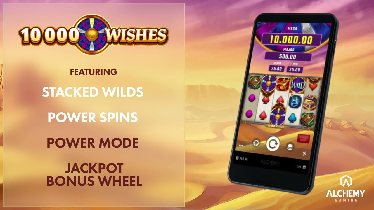 10000 Wishes Slot Play Free ▷ RTP 96.3% & Medium Volatility video preview