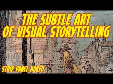 Subtle Visual Storytelling | Strip Panel Naked | Little Bird