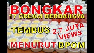 Cream Pemutih Berbahaya Menurut BPOM